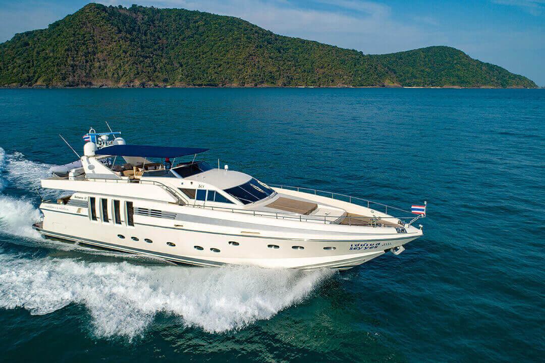 Technema 82 Luxury Cruise Phuket