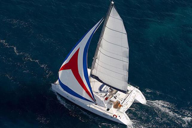 Calypso Lagoon 440 catamaran sailing Thailand