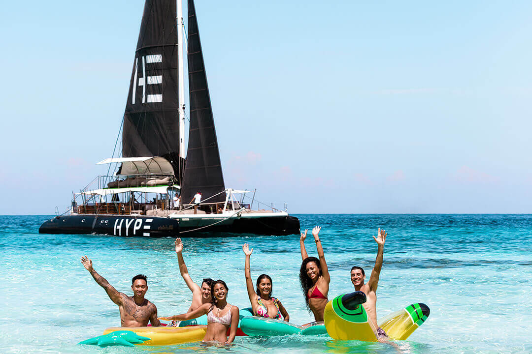 Hype Water toys Phuket charter boat