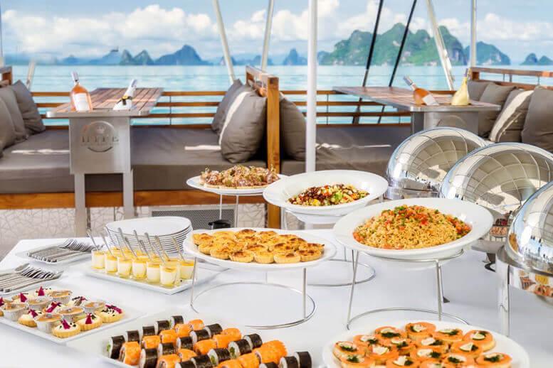 Hype buffet charter Phuket