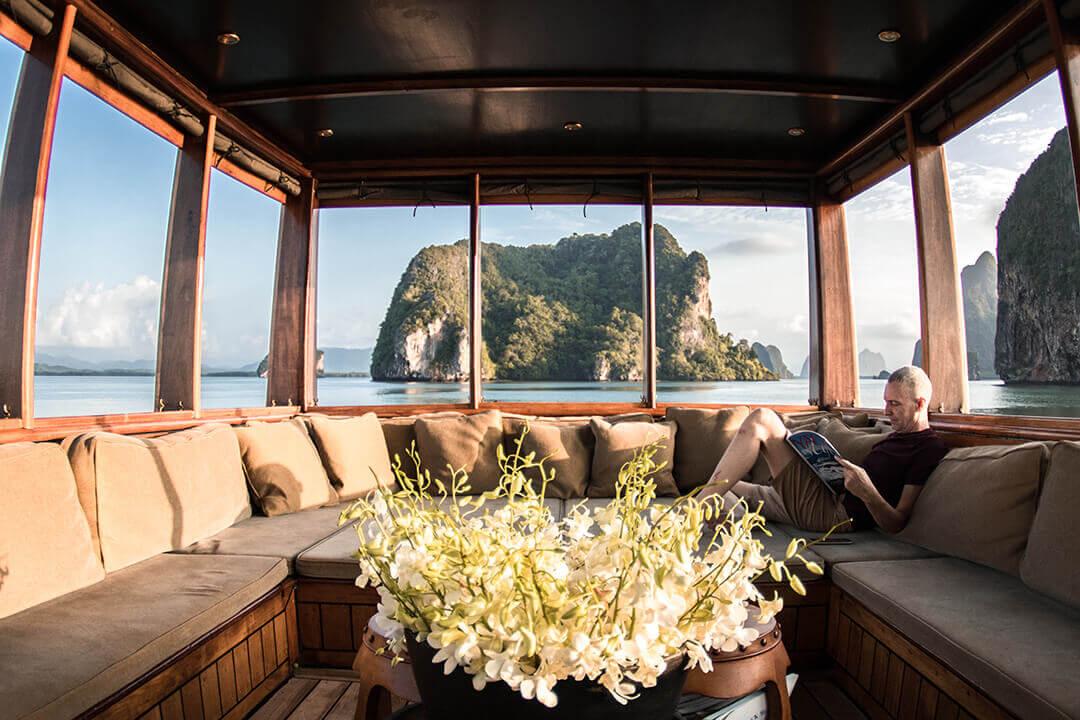 Maha Behtra Thailand luxury boating